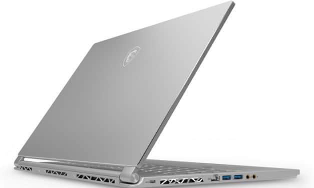MSI P65 8SE-248FR, PC gamer léger, puissant et sobre avec RTX 2060 (1599€)