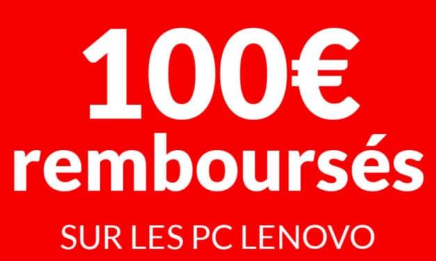 """<span class=""""tagtitre"""">Bon Plan - </span>100€ remboursés sur les PC Lenovo sous Ryzen 5 et 7"""