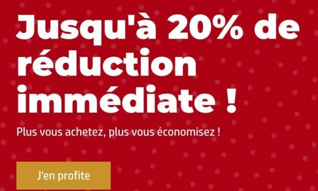 """<span class=""""tagtitre"""">Bon Plan - </span>Jusqu'à 20% de remise chez HP France"""