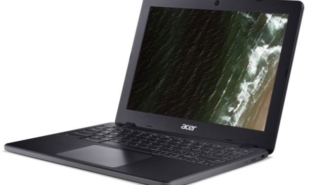"Acer Chromebook 712, ultraportable 12"" Comet Lake et Wi-Fi ax pris en charge 8 ans"