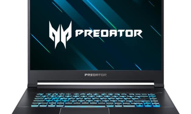 "Acer Predator Triton PT515-51-78Y3, PC gamer 15"" fin et léger RTX 2060 (1498€)"