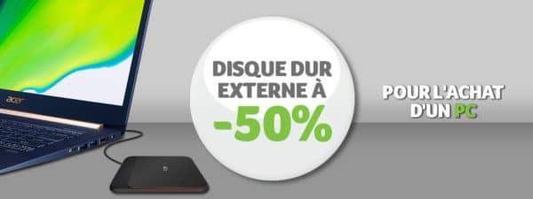 Acer Réductions disques durs externes 2fev20