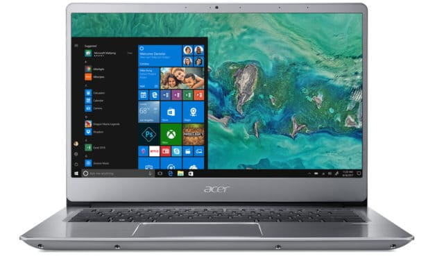 Acer Swift SF314-54-P7TY, ultrabook 14 pouces IPS pas cher (399€)
