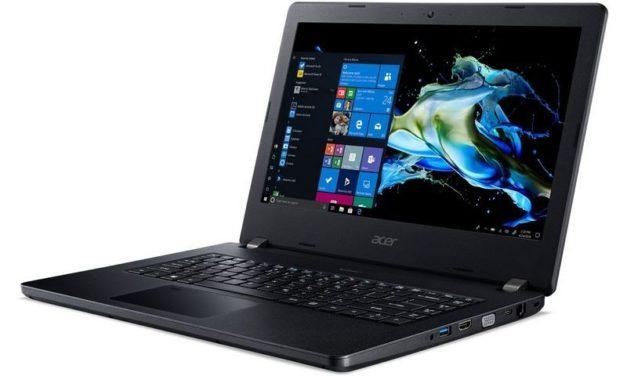 """Acer TravelMate P2 P214-52-38MW, Ultrabook 14"""" Pro noir rapide fin et léger (649€)"""