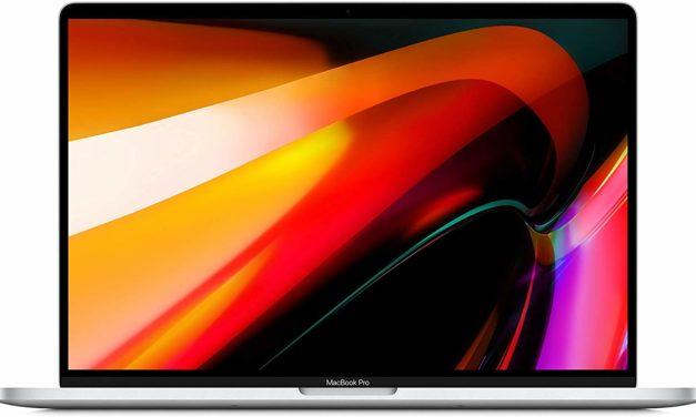 Apple MacBook Pro 16 Core i9 octocore, 16 pouces léger pour créatifs (2699€)