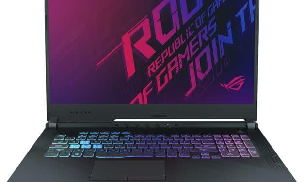 Asus ROG Strix G731GV-EV01, PC gamer 17 pouces puissant RTX 2060 (1280€)