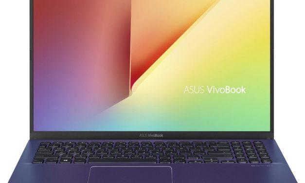 Asus Vivobook S512DA-EJ892T, 15 pouces bleu, léger et borderless AMD (559€)