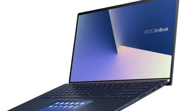 "Asus Zenbook UX534FAC-A8155T, ultrabook 15"" bleu, léger et réactif (1299€)"