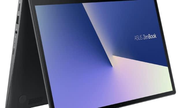 """Asus Zenbook Flip UX463FA-AI032R, ultrabook 14"""" tablette productif NumPad (1253€)"""