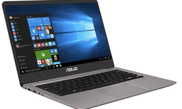 "Asus Zenbook UX410UA-GV661T, Ultrabook 14"" rapide argent gros stockage 9h (699€)"