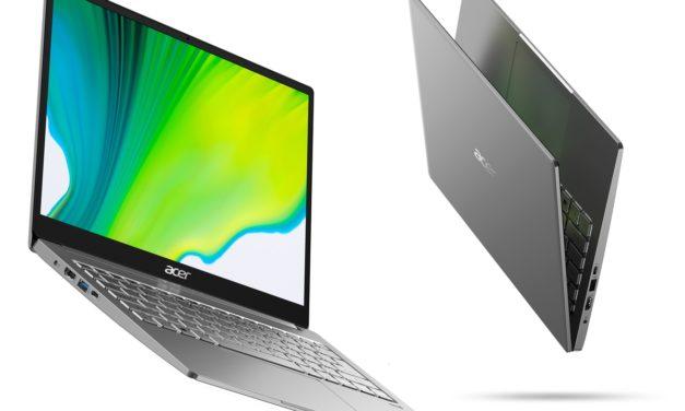 """<span class=""""tagtitre"""">CES 2020 - </span>Acer Swift 3, Ultrabooks 13"""" Ice Lake Athena et 14 pouces Renoir Ryzen 4700U"""