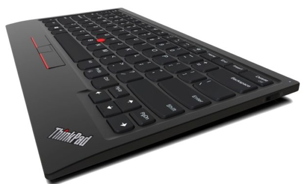 "<span class=""tagtitre"">CES 2020 - </span>Lenovo ThinkPad TrackPoint Keyboard II, clavier sans-fil avec TrackPoint"