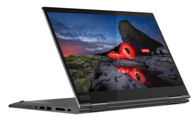 "<span class=""tagtitre"">CES 2020 - </span>Lenovo ThinkPad X1 Yoga Gen 5, Ultrabook 2-en-1 4K HDR Comet Lake Hexa Core 18h"