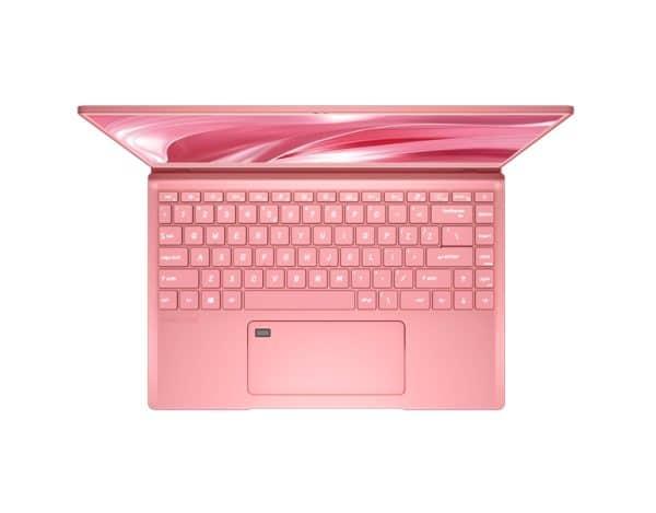 CES 2020 MSI Prestige 14 Hot Pink