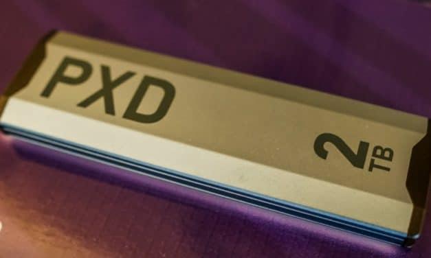 """<span class=""""tagtitre"""">CES 2020 - </span>Patriot PXD, SSD externe M.2 NVMe au format clé USB"""