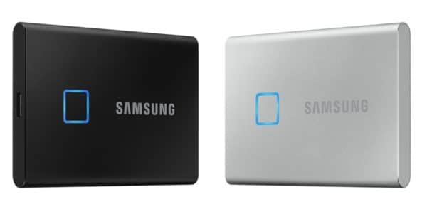 CES 2020 Samsung Portable SSD T7 Touch