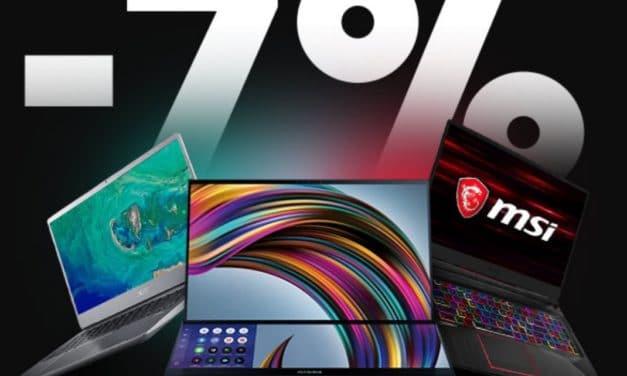 """<span class=""""tagtitre"""">Bon Plan - </span>7% de remise sur tous les PC portables chez Materiel.net"""