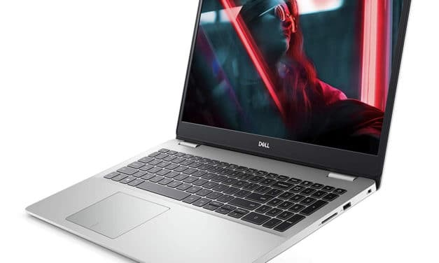 """Dell Inspiron 15 5593, Ultrabook 15"""" fin argent rapide SSD 512 Go (719€)"""