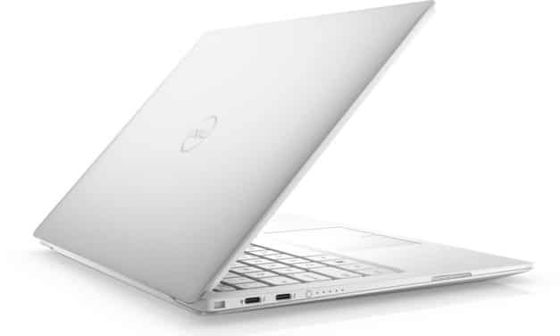 "Dell XPS 13 7390, Ultrabook 13"" blanc rapide fin, léger et nomade 11h (1199€)"