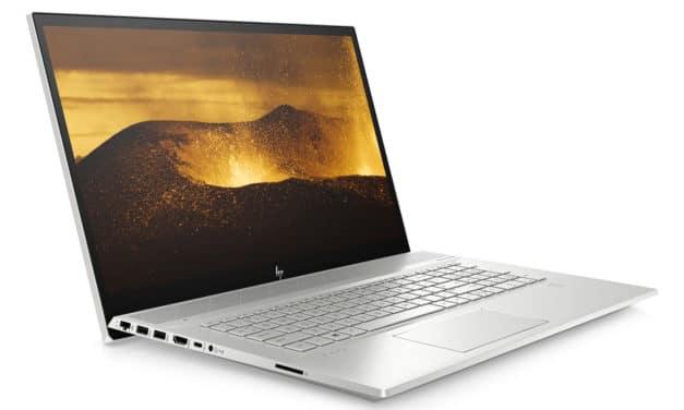 HP Envy 17-ce0022nf, 17 pouces fin sobre multimédia (999€)