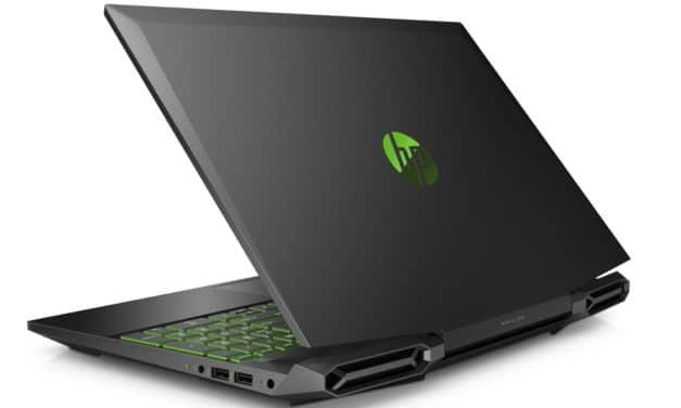 """HP Gaming Pavilion 15-dk0052nf, PC portable 15"""" polyvalent multimédia joueur GTX 1650 léger (1099€)"""