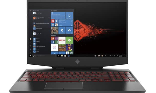 "HP Omen 15-dh0052nf, PC portable 15"" 240Hz G-Sync gamer RTX 2070 sans Windows (1371€)"