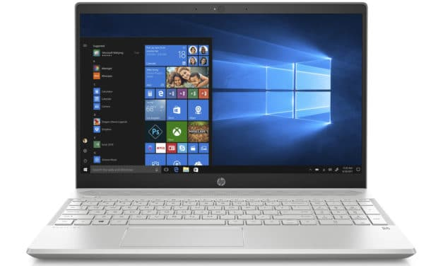HP Pavilion 15-cs2014nf, ultrabook 15 pouces multimédia GTX 1050 (832€)