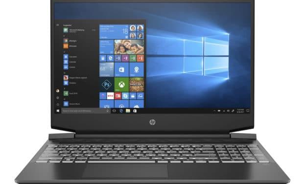 HP Pavilion Gaming 15-ec0009nf, PC portable polyvalent et sobre 15 pouces (950€)
