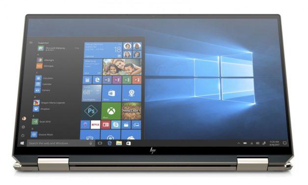 HP Spectre x360 13-aw0000nf, 13 pouces tablette bonne autonomie (1189€)