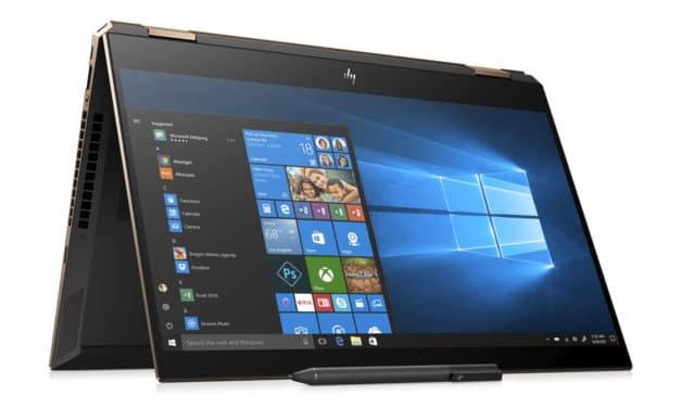 HP Spectre x360 15-df0020nf, 15 pouces tablette polyvalent TB3 (1699€)
