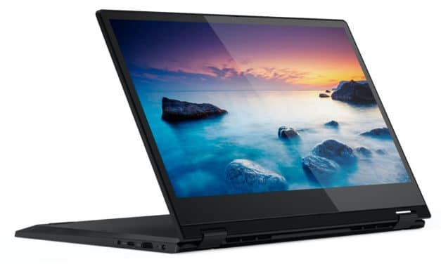 "<span class=""soldes"">Soldes 879€</span> Lenovo IdeaPad C340-14IML, convertible tablette 14 pouces"