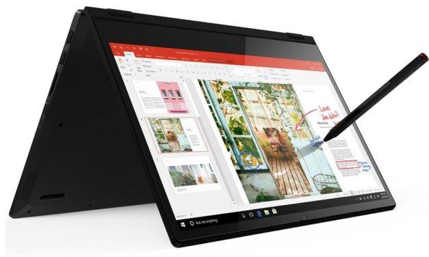 """<span class=""""soldes"""">Soldes 639€</span> Lenovo Ideapad C340-14API, 14 pouces tablette réactif avec stylet"""