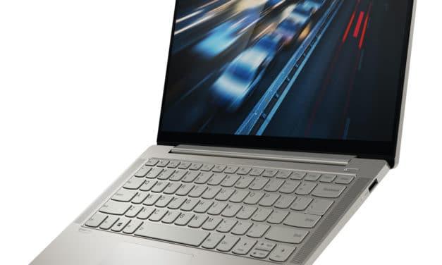 """<span class=""""soldes"""">Soldes 959€</span> Lenovo Yoga S740-14IIL, ultrabook 14"""" léger bonne autonomie"""