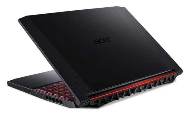 """Acer Nitro AN515-54-77X0, PC portable 15"""" 120Hz gamer créatif GTX 1660 Ti sans Windows + souris (1195€)"""