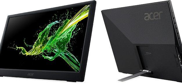 Acer PM1, un écran externe 15 pouces en USB-C à prix doux pour ordinateurs portables