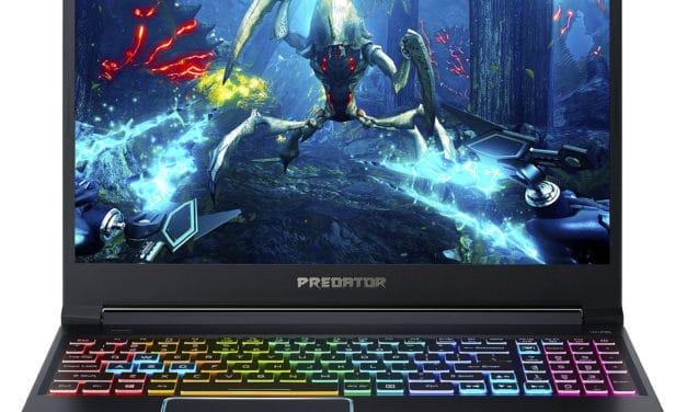 Acer Predator Helios PH315-52-7958, 15 pouces gamer SSD 1 To et GTX 1660 Ti (1399€)