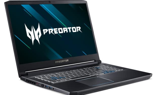 "Acer Predator PH317-53-71BF, PC portable 17"" 120Hz gamer créatif GTX 1660 Ti 1.2 To (1309€)"