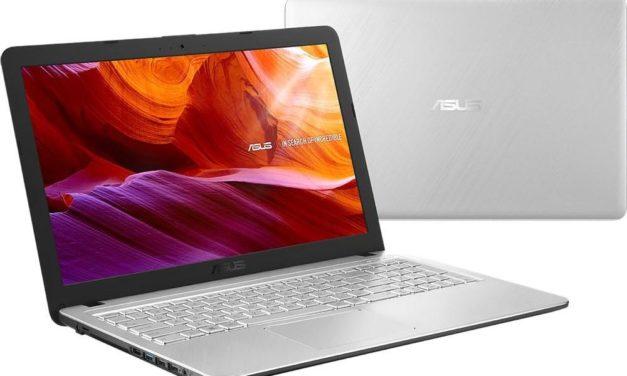 Asus R543UA-DM2977T, PC portable 15 pouces bureautique rapide (436€)