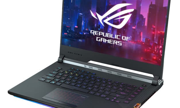 Asus ROG Scar G531GU-ES104T, PC gamer 15 pouces rapide GTX 1660 Ti (1469€)