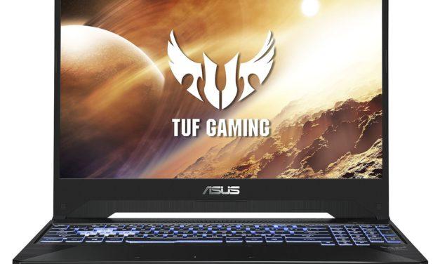 """<span class=""""nouveau"""">Nouveau 749€</span> Asus TUF505DT-BQ051T, PC portable 15 pouces gamer GTX 1650"""
