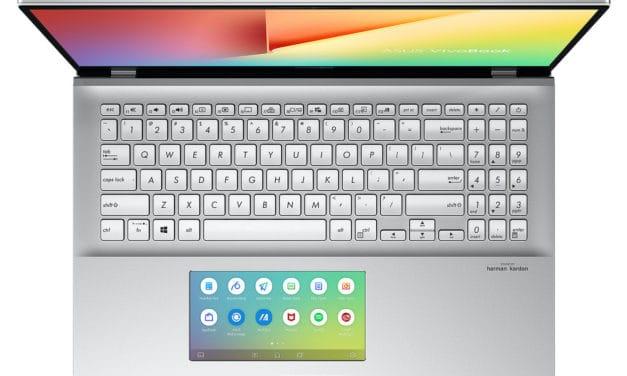 Asus VivoBook S532FL-BQ216T, ultrabook 15 pouces 2 écrans multimédia (1109€)