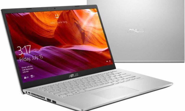 Asus Vivobook R409BA-EK036T, PC portable 14 pouces bureautique rapide (479€)