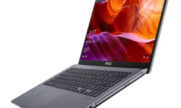 """Asus X545, nouveau PC portable 15"""" léger Comet Lake et lecteur/graveur CD/DVD"""