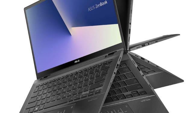 "Asus ZenBook Flip 14 UX463FA-AI012R, Ultrabook 14"" tactile Tablette Pro rapide NumPad 9h (1055€)"