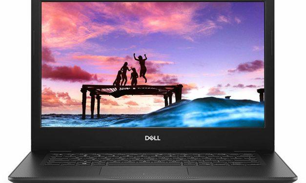 Dell Inspiron 14 3493, 14 pouces bureautique rapide (579€)