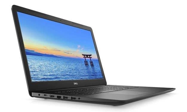 """Dell Inspiron 17 3793, PC portable 17"""" noir gros stockage CD/DVD (799€)"""