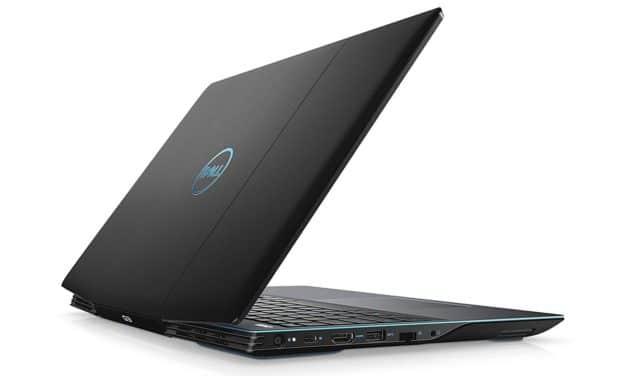 """Dell Inspiron G3 3590, PC portable 15"""" gamer créatif GTX 1660 Ti gros stockage (1377€)"""