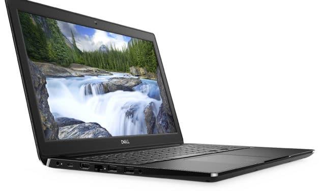 "Dell Latitude 3500, Ultrabook 15"" Pro noir fin rapide nomade 9h (899€)"