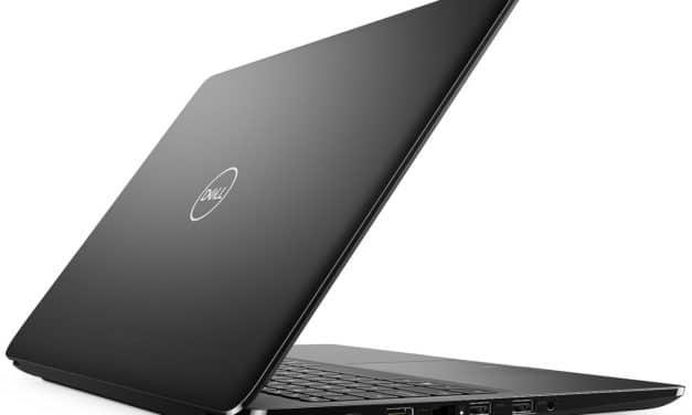 "Dell Latitude 3500, Ultrabook 15"" pro noir gros stockage 9h (638€)"