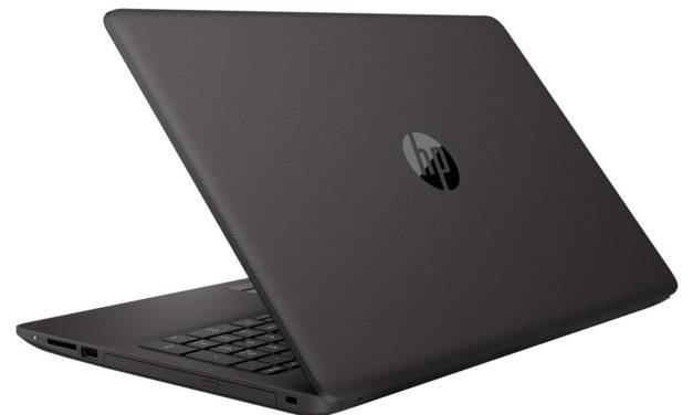 "HP 250 G7 (8MH73EA), PC portable 15"" noir léger rapide SSD 256 Go CD/DVD (399€)"